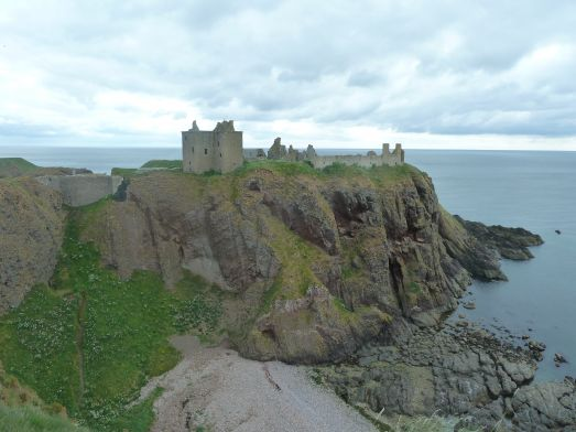 Dunnottar castle utanför Aberdeen