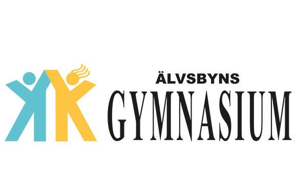 Älvsbyns gymnasium logotyp (logga)