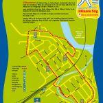 Karta på Hälsans stig i Älvsbyn
