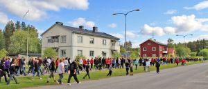 """Bild från radions evenemang """"Radioaktiv"""" och vandring längs Hälsans stig. Foto: Peter Lundberg"""