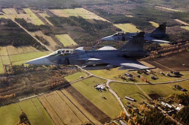 JAS 39 Gripen. Foto: Johan Lundahl, Combat Camera, Försvarsmakten