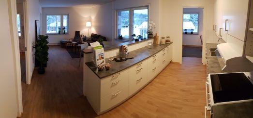 Interiör från en av de nya lägenheterna.