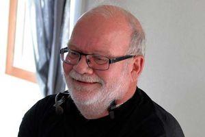 Arne Lind tävlingsledare från Älvsbyns Motorsällskap. Foto Sterling Nilsson