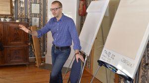 Det här är en unik satsning, säger Jörgen Hellsten som leder utbildningen. Foto: Sterling Nilsson