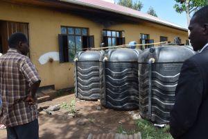 Biogasanläggning på Ubetu Secondary School. Foto: Linda Öhlin