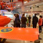 RFN-museet inne på provplatsområdet.