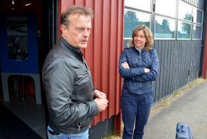 Mats Hakkarainen och Maud von Heijne generalsekreterare för Folk och Försvar.