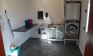 Nya tvättstugan.