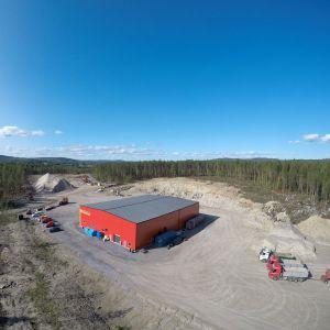 Br. Öhmans nya industrifastighet. Foto: Sterling Nilsson