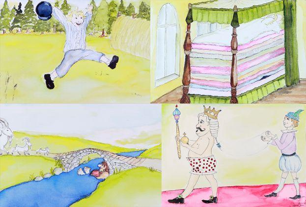 Teckningar av Victoria Öhman