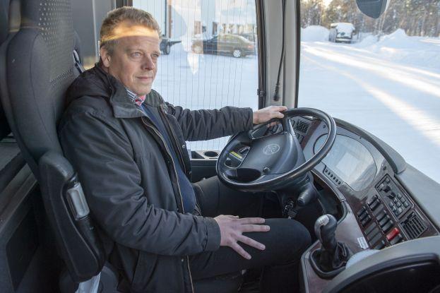 Linus Granberg, VD på Granbergs Buss. Foto: Sterling Nilsson