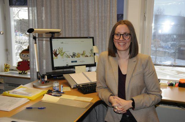 Anna-Karin Andersson, HR-chef på Älvsbyns kommun. Foto: Robin Nilsson