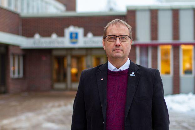 Tomas Egmark, kommunalråd i Älvsbyns kommun. Foto Peter Lundberg