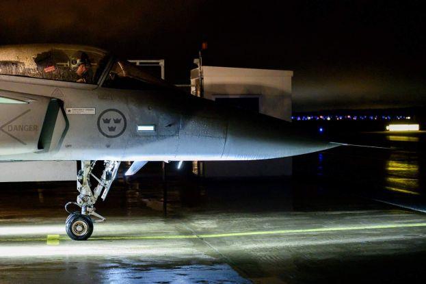Mörkerflygning F 21. Foto Joakim Vidgren/Försvarsmakten