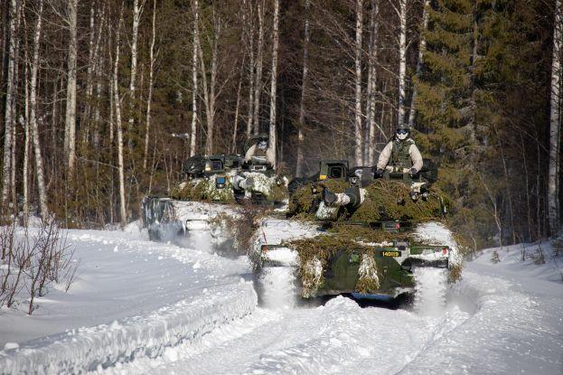 Militärövning, Foto Jesper Sundström, Försvarsmakten