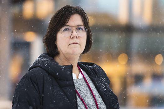 Pia Näsvall, Chefläkare Region Norrbotten, Fotograf Simon Eliasson