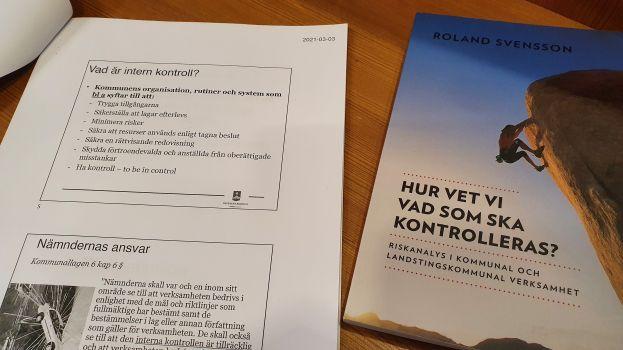 Utbildning i internkontroll. Foto Peter Lundberg.