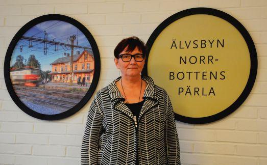 Maria Thysell, tf fritid- och kulturchef i Älvsbyns kommun. Foto: Robin Nilsson