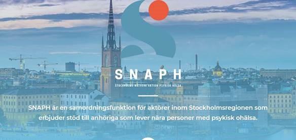 Stockholms nätverk aktion psykisk hälsa